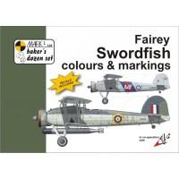 Fairey Swordfish Colours & Markings in 1:48