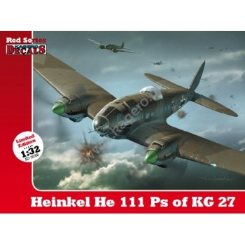 Heinkel He 111 Ps of KG 27 in 1:32