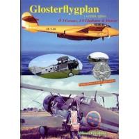 Glosterflygplan - Ö 3 Grouse,J 8 Gladiator & Meteor