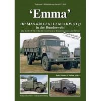 """5040,""""EMMA"""" Der MAN 630 L2 AE LKW 5 t gl in der Bundeswehr"""
