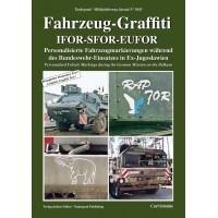 5042,Fahrzeug Graffiti IFOR-SFOR-EUFOR