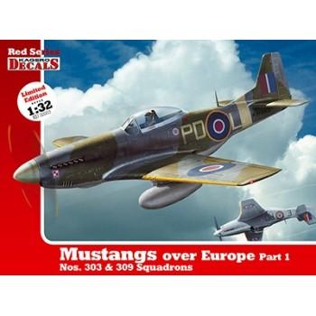 Mustangs over Europe Part 1 in 1:32