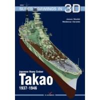 26,Japanese Heavy Cruiser Takao 1937-1946