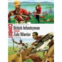 3,British Infantryman vs Zulu Warrior Anglo-Zulu War 1879