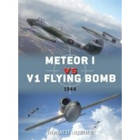 45,Meteor I vs V1 Flying Bomb 1944