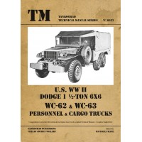 6033, U.S. WW II Dodge WC62-WC63 6x6 Trucks