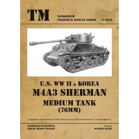6034, U.S. WW II & Korea M4A3 Sherman (76 mm) Medium Tank