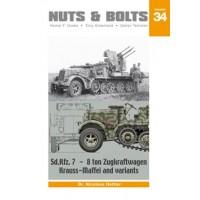 34, Sd.Kfz. 7 - 8 ton Zugkraftwagen Krauss-Maffei and Variants