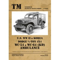 6035,U.S. WW II & Korea Dodge 3/4 -Ton 4x4 WC-54 & WC-64 (KD) Ambulance