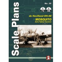 35,de Havilland Mosquito - Early Fighter Versions