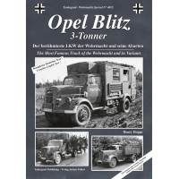 4015, Opel Blitz 3 tonner - Der berühmteste LKW der Wehrmacht