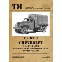 6038, U.S. WW II Chevrolet 1 1/2 ton 4x4 Cargo Trucks,M6 Bomb Service Truck & other Variants