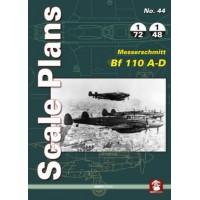 44, Messerschmitt Bf 110 A - D