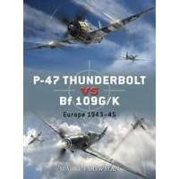 11,P-47 Thunderbolt vs Bf 109 G/K