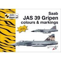 Saab JAS 39 Gripen Colours & Markings Decals 1:72