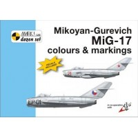 Mikoyan-Gurevich MiG-17 Colours & Markings mit Decals 1:48