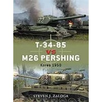 032, T-34/85 vs M26 Pershing Korea 1950