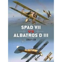 036,Spad VII vs.Albatross D III 1917-1918