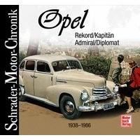 Opel Rekord/Kapitän/Admiral/Diplomat 1938-1986