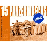 Panzerwrecks 15 German Armour 1944-45