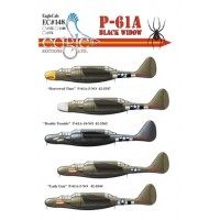 P-61 A Black Widow EagleCals 148 in 1:72