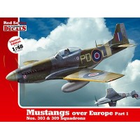 Mustangs over Europe Part 1 in 1:48