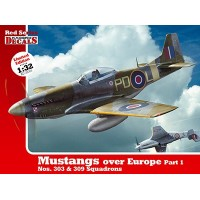 Mustangs over Europe Part 1 in 1:32