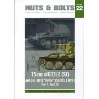 22, 15 cm sIG 33/2 (Sf) auf GW 38(t) Grille (Sd.Kfz.138/1) Part 1: Ausf. M