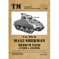 6032,U.S. WW II M4A3 Sherman Medium Tank 75 mm/105 mm