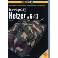 17,Panzerjäger 38(t) Hetzer & G-13 Vol.2