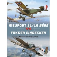 59,Nieuport 11/16 Bebe vs Fokker Eindecker Western Front 1916
