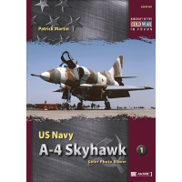 1,US Navy A-4 Skyhawk Color Photo Album
