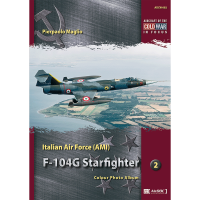 2,Italian Air Force (AMI) F-104 G Starfighter Colour Photo Album