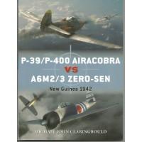 87, P-39 / P-400 Airacobra vs A6M2/3 Zero-Sen New Guinea 1942
