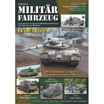 Tankograd Militärfahrzeug 4/2018