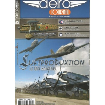 Aero Journal No.63 : Luftproduktion