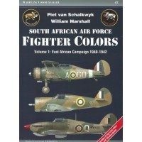 2, South African Fighter Colors Vol. 1 :East African Campaign 1940 - 1942