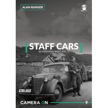 9, Staff Cars in Germany WW II Vol.1