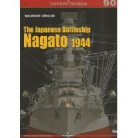 90,The Japanese Battleship Nagato 1944