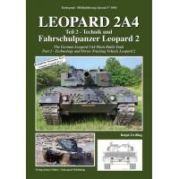 5084, Leopard 2A4 Teil 1 : Technik und Fahrschulpanzer Leopard 2