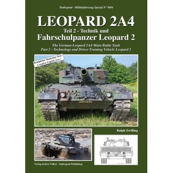 50843, Leopard 2A4 Teil 1 : Technik und Fahrschulpanzer Leopard 2