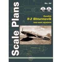64, Ilyushin Il-2 Shturmovik , Two Seat Versions