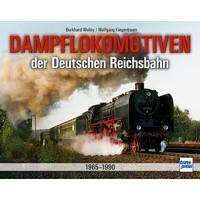 Dampflokomotiven der Deutschen Reichsbahn 1965 - 1990