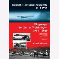 Flugzeuge des Ersten Weltkrieges 1914 - 1920