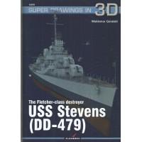 78, The Fletcher-Class Destroyer USS Stevens (DD-479)