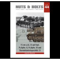 44, 15 cm s.i.G. 33 auf Fgst. Pz.Kpfw. II , III and Sturminfanteriegeschütz 33
