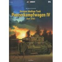 4, German Medium Tank Panzerkampfwagen IV Ausf. G/H/J