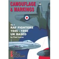 1, RAF Fighters 1945 - 1950 UK Based