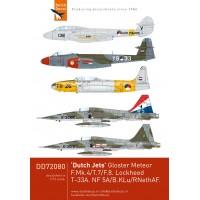 Dutch Jets Dutch Decals 72080