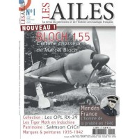 Les Ailes No.1 : Bloch 155